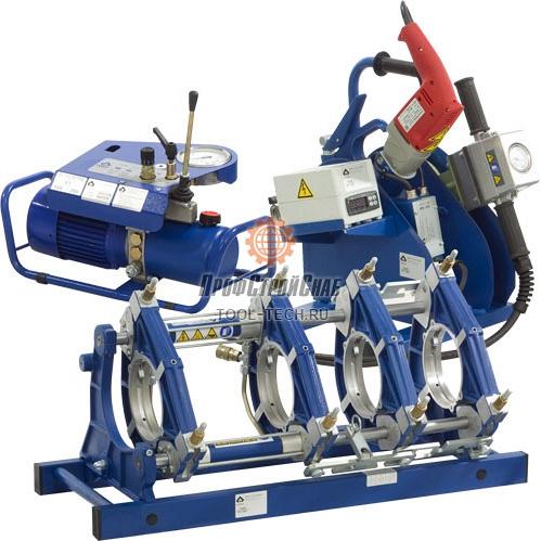 Гидравлическая машина для стыковой сварки пластиковых труб Uponor Infra PT 160 PT160