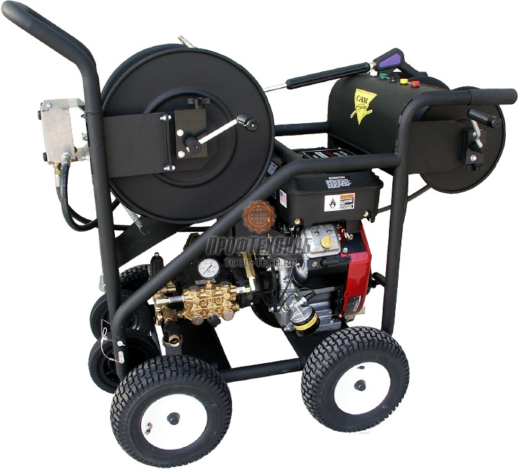 Гидродинамическая прочистная машина с бензиновым приводом CAM Spray EJ-SW3000.4 SW30004HR
