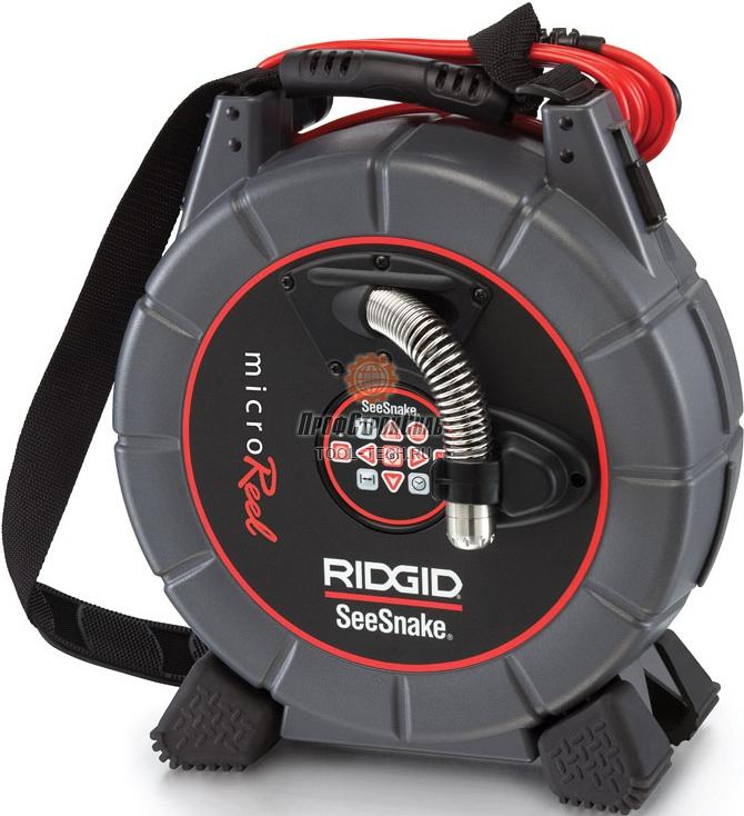 Инспекционная промышленная видеосистема RIDGID SeeSnake microReel 35138