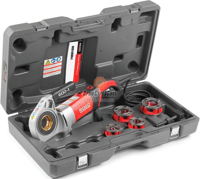 Клупп электрический резьбонарезной RIDGID 600-I 44883