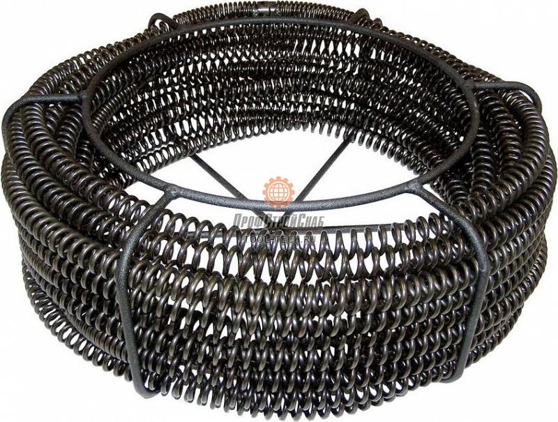 Комплект секционных спиралей для прочистки канализации O 22 мм (7/8