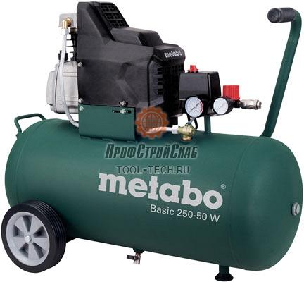 Компрессор поршневой масляный Metabo Basic 250-50 W 601534000