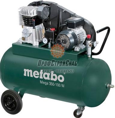 Компрессор поршневый Metabo Mega 350-100 W 601538000