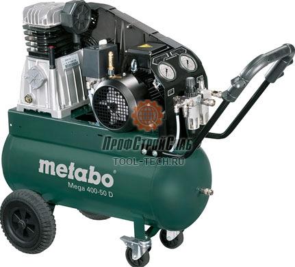 Компрессор ременной Metabo Mega 400-50 D 601537000
