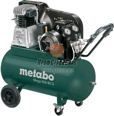 Компрессор с ременным приводом Metabo Mega 550-90 D 601540000