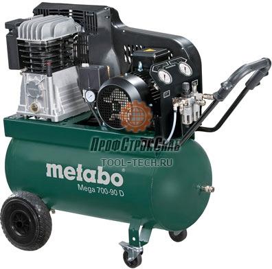 Компрессор поршневый Metabo Mega 700-90 D 601542000