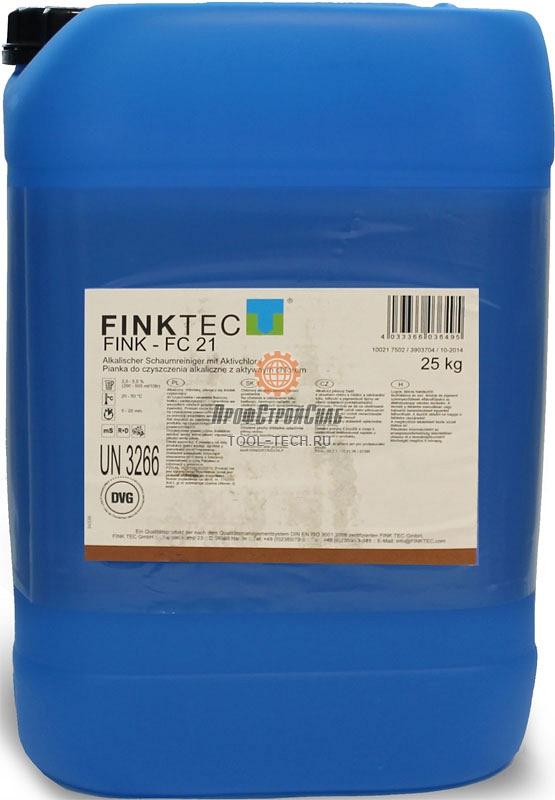 Концентрированное щелочное моющее средство Finktec FINK-FC 21 10021