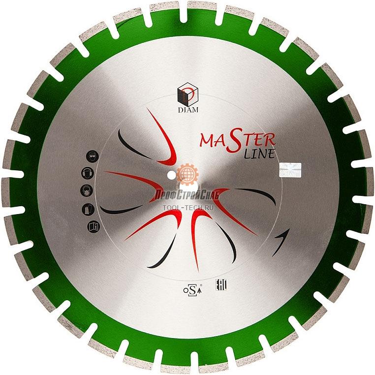 Круг алмазный отрезной сегментный по граниту Diam Гранит Master Line 000593