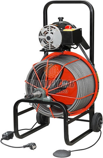 Машина для прочистки канализационных труб Gerat K-PRO ELECTRO 50507-10-18