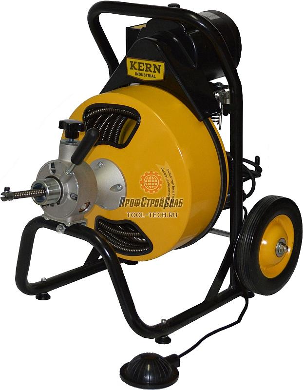 Машина для прочистки труб канализации KERN Viper 400 0401009