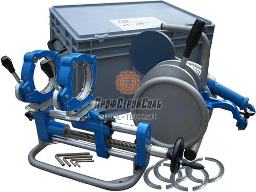 Механический сварочный аппарат для стыковой сварки полиэтиленовых труб Dytron ST 110 03971