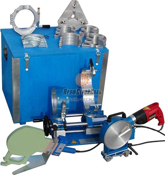 Механический сварочный аппарат для стыковой сварки труб Uponor Infra PL 125 C PL125