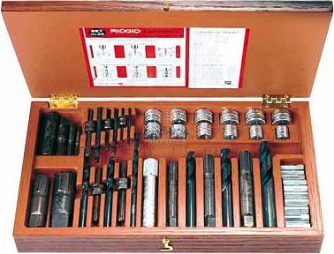 Набор экстракторов для извлечения болтов RIDGID 25 35590