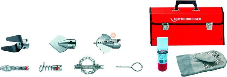 Набор насадок для прочистки труб Rothenberger L O 16 мм 72936