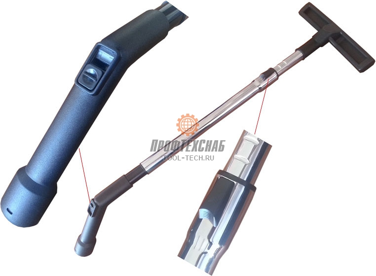 Насадки для промышленного пылесоса Messer DE25 10-30-026
