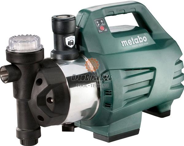 Автоматический насос для воды Metabo HWAI 4500 INOX 600979000