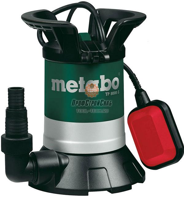 Насос дренажный Metabo TP 8000 S 0250800000
