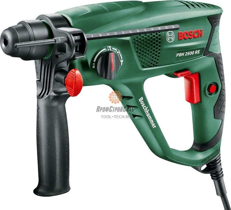 Перфоратор электрический Bosch PBH 2500 RE 0603344421