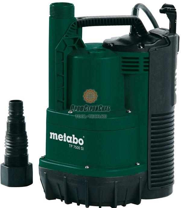 Погружной насос для чистой воды Metabo TP 7500 SI 0250750013