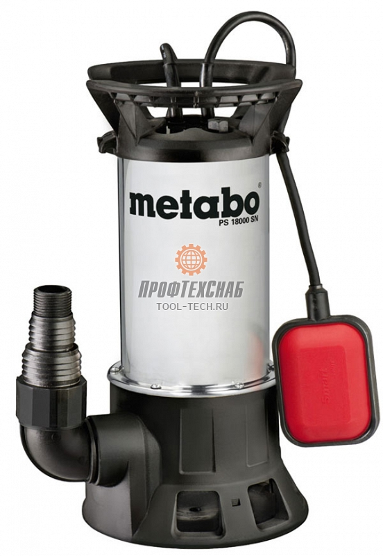 Погружной насос для грязной воды Metabo PS 18000 SN 0251800000