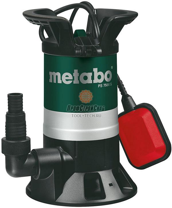 Погружной насос Metabo PS 7500 S 0250750000