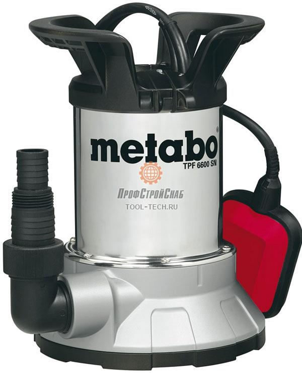 Погружной насос Metabo TPF 6600 SN 0250660006