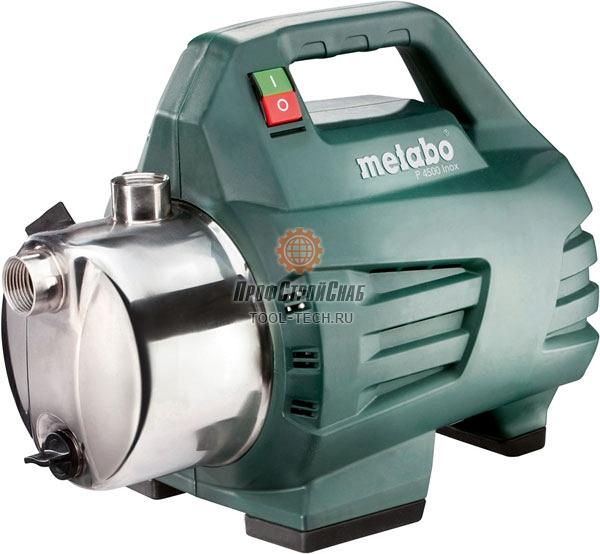 Поверхностный насос Metabo P 4500 INOX 600965000