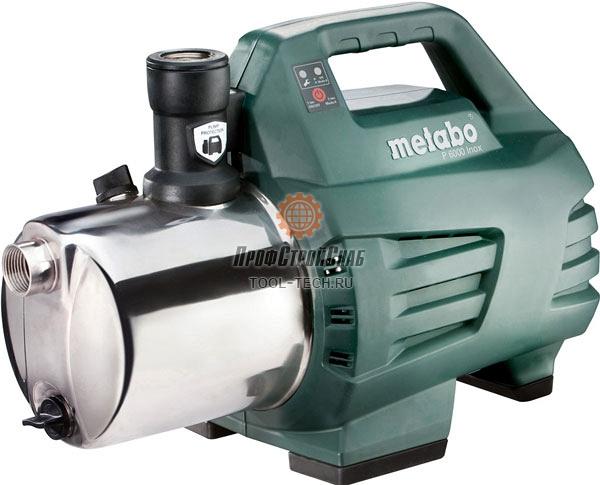 Поверхностный насос Metabo P 6000 INOX 600966000