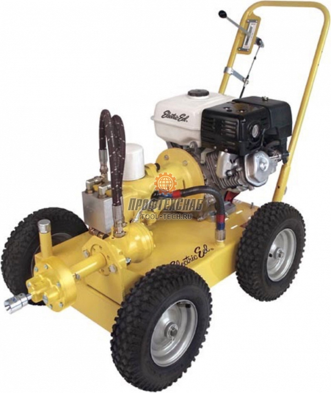Прочистная машина секционного типа бензиновая Electric Eel Model 800 800K-8MUN
