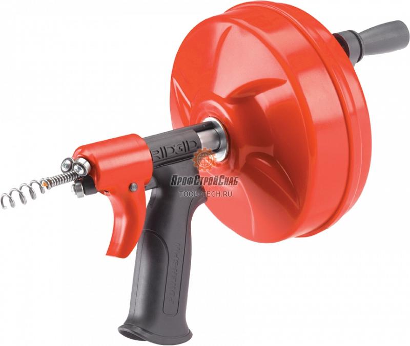 Ручная вертушка Ridgid POWER SPIN с автоподачей Autofeed 41408
