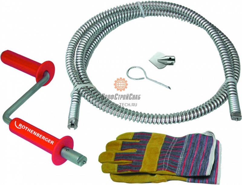 Ручное устройство для прочистки труб Rothenberger ROPOWER HANDY 71975