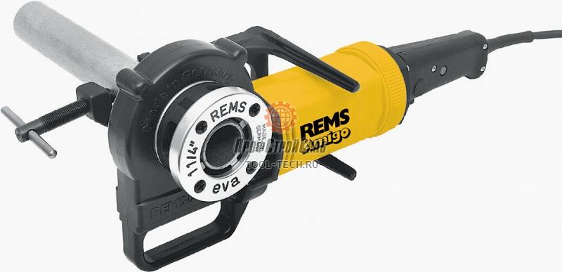 Ручной электрический резьбонарезной трубный клупп REMS Amigo 530020