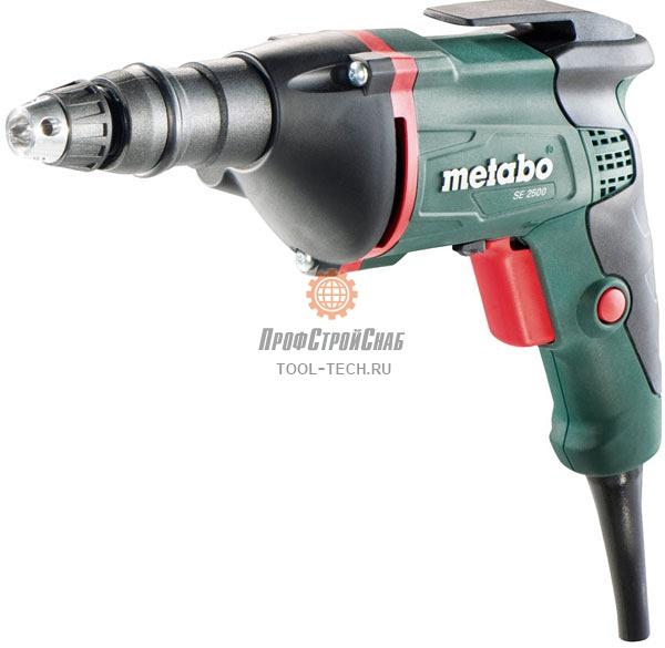 Электрический шуроповерт Metabo SE 2500 620044000