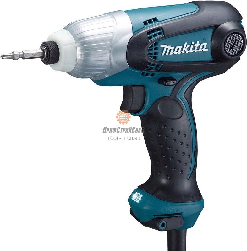 Шуруповерт сетевой ударный Makita TD0101F 168544