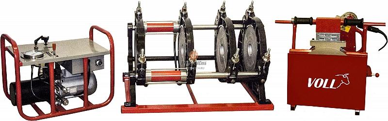Сварочная машина для пластиковых труб Voll V-Weld G315 4.03101