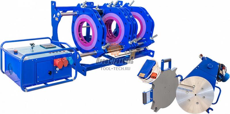 Сварочная машина для полиэтиленовых труб Волжанин ССПТ-400 ССПТ-400МЭ