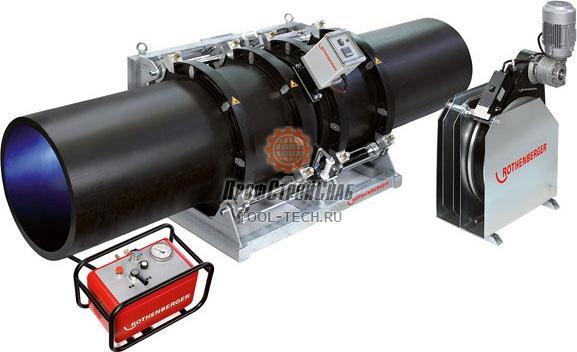 Сварочная машина для стыковой сварки труб Rothenberger ROWELD P 630 B Professional / Premium / Premium CNC 53355