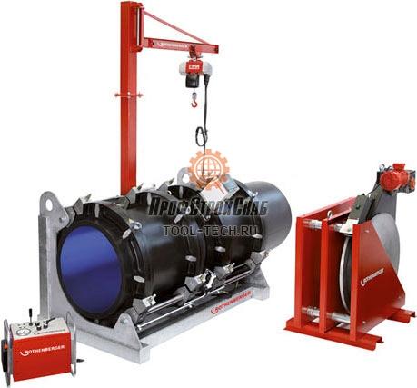 Сварочная машина для стыковой сварки труб Rothenberger ROWELD P 800 B Professional 54170