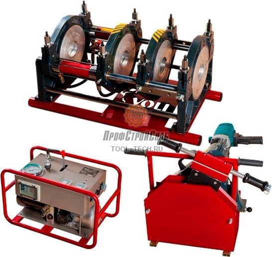 Сварочная машина для стыковой сварки труб Voll V-Weld G250 4.02501