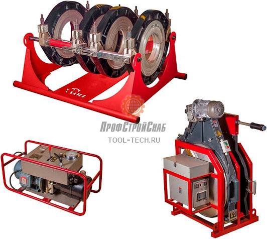 Сварочная машина для стыковой сварки труб Voll V-Weld G800 4.08001