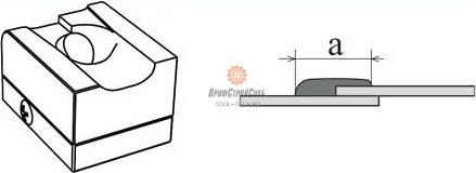 Сварочные башмаки для экструдеров Munsch F-типа<br/>без держателя