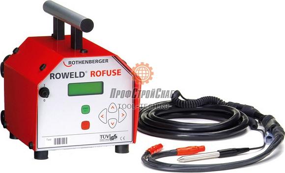 Сварочный аппарат для электромуфтовой сварки Rothenberger ROWELD ROFUSE 1500000856