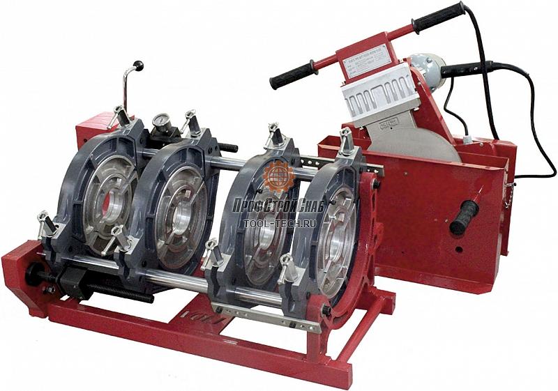 Сварочный аппарат для стыковой сварки полиэтиленовых труб Voll V-Weld M250 4.00251