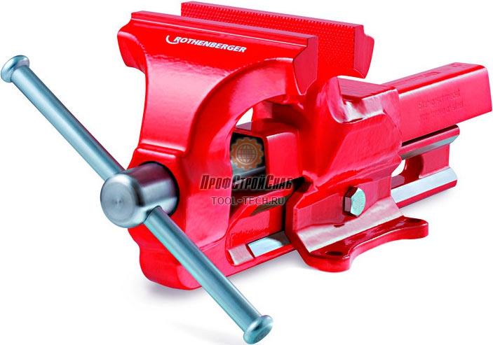 Тиски слесарные настольные с наковальней Rothenberger 140 мм 070735X