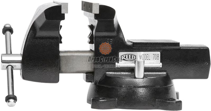 Тиски слесарные поворотные с наковальней Reed 708 01390