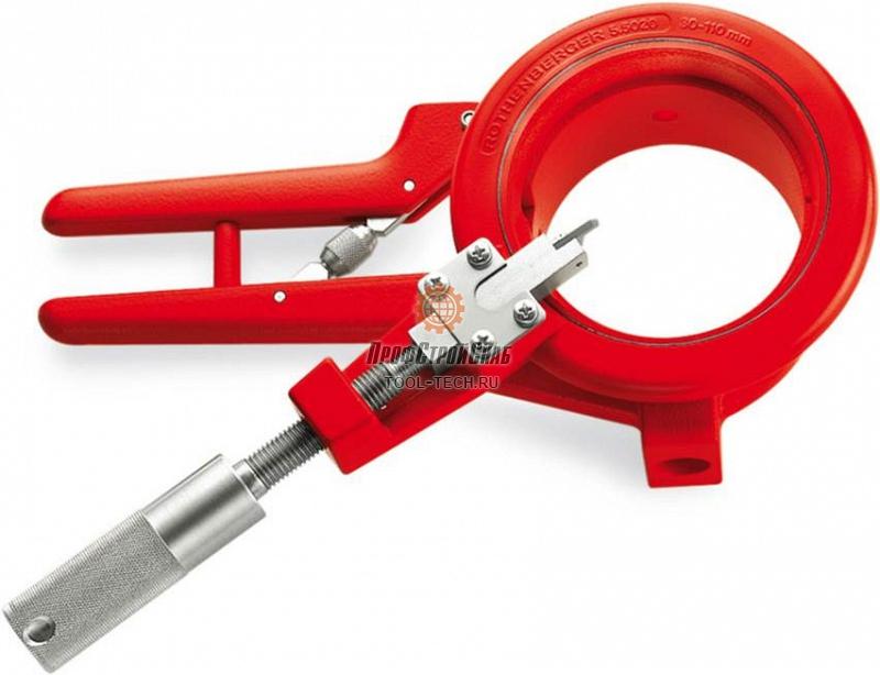 Труборез-фаскосниматель для пластиковых труб Rothenberger ROCUT 110 55035