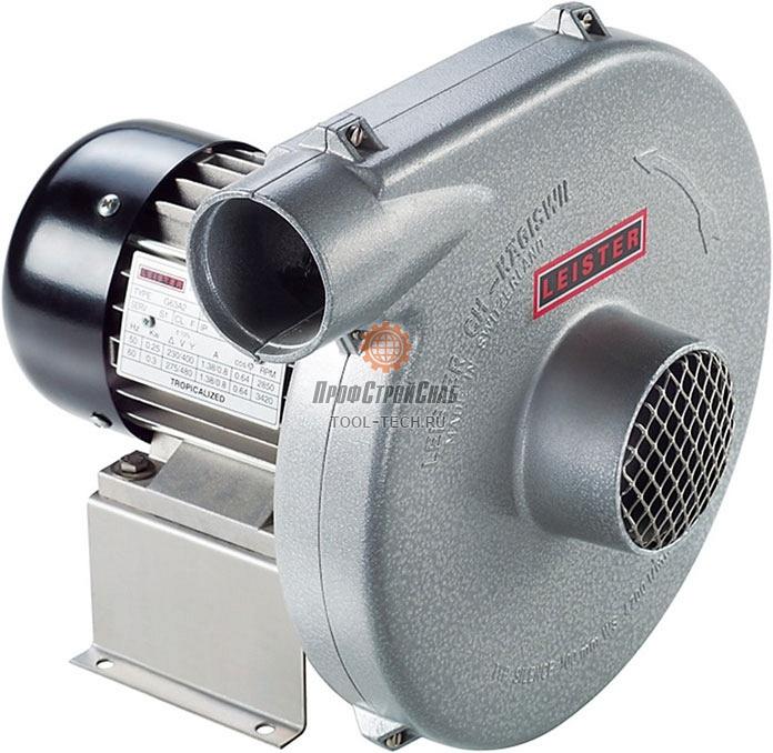 Центробежный вентилятор среднего давления Leister SILENCE