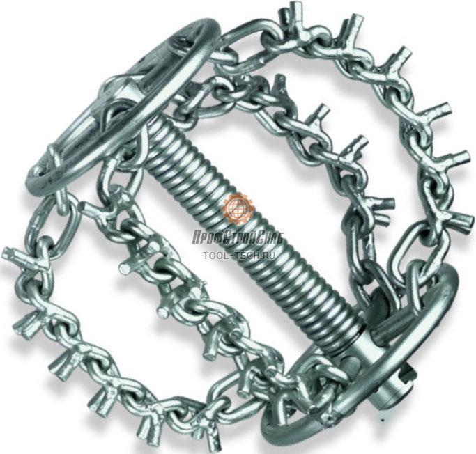 Цепная насадка с кольцом и 4-мя цепями с шипами Rothenberger 72182