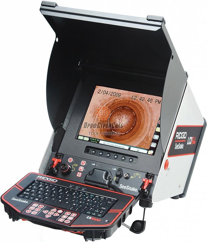 Цифровой записывающий видеомонитор RIDGID SeeSnake CS1000 AZERTY