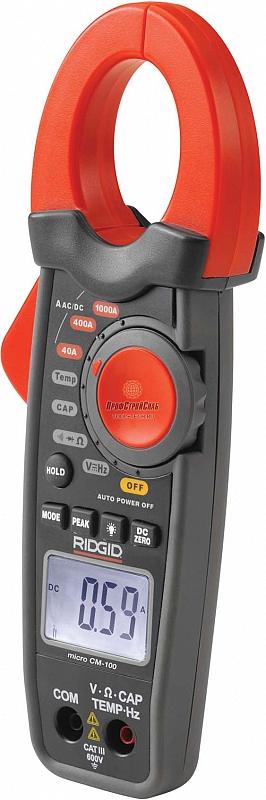 Цифровые токовые клещи RIDGID micro CM-100 37428